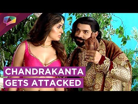Chandrakanta Gets Attacked By Krur Singh And Shivd