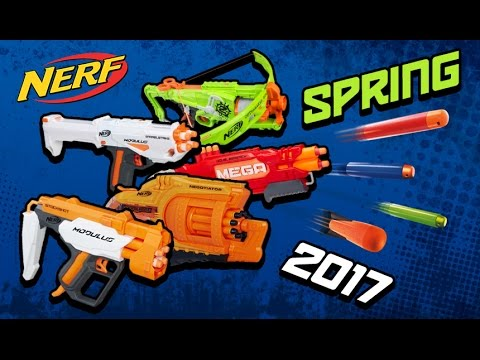 New Nerf Guns For Winter 2017 and Spring 2017