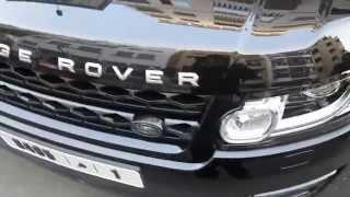 RANGE ROVER : Nano Wash By Viréo Car Wash (Casablanca)