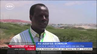 AU delegation carries out assessment on the state of the Somalia-based peacekeeping mission