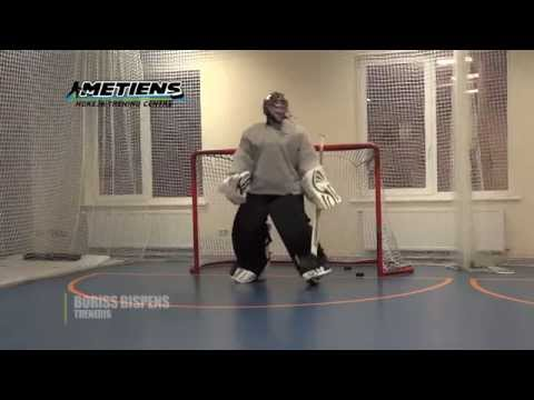 Off-Ice Hockey training: Goalie workout