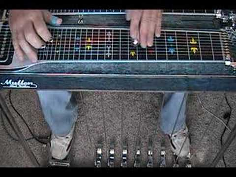1-7-4 1-2-4-5-1 Pedal Steel Guitar Intro