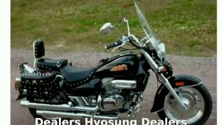 6. 2009 Hyosung Aquila GV250  Transmission Dealers [Motorcycle Specs]