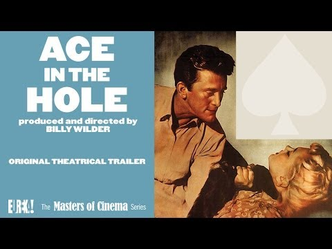 ACE IN THE HOLE (Masters of Cinema) Original Theatrical Trailer