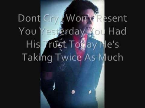 Michael Jackson Demerol (Morphine) with lyrics