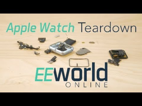 Teardown: Apple watch sport model
