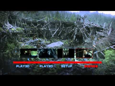 DAWN OF THE PLANET OF THE APES 2014 3D+2D Blu-ray 50G + 25G 3DVietnamese