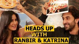 Video Ranbir Kapoor & Katrina Kaif Play Heads Up Challenge MP3, 3GP, MP4, WEBM, AVI, FLV Maret 2019