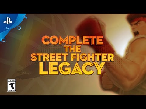 Street Fighter 30th Anniversary Collection – Ultra SFIV Pre-Order Trailer | PS4 (видео)