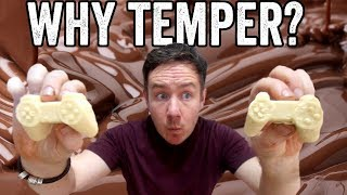 How to temper chocolate & why vs basic melting by  My Virgin Kitchen