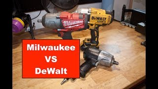 Milwaukee vs DeWalt 1/2
