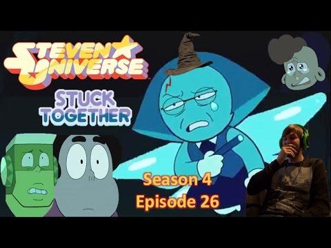 BLUE POTTER / Steven Universe season 5 Episode 1 (Stuck Together) reaction