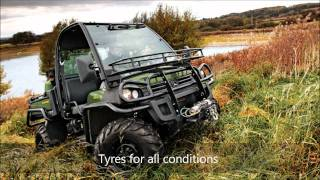3. John Deere Gator XUV 855D Diesel 4x4