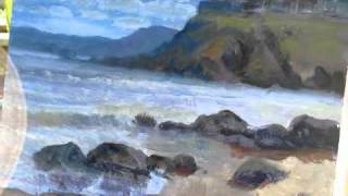 Laguna Beach Seascape Painting Timelapse