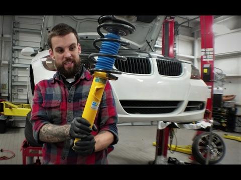 Bilstein Sport Shocks + H&R Race Springs (видео)