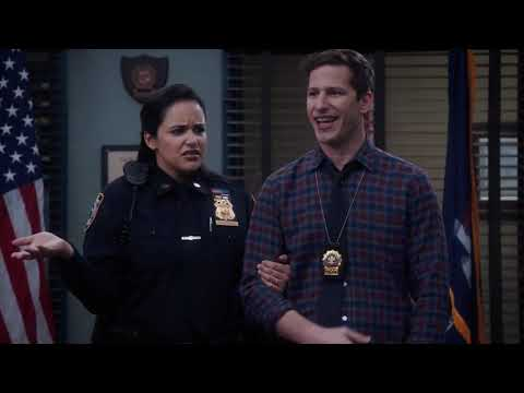 Jake And Amy Announce They Are Having Twins | Brooklyn 99 Season 7 Episode 10