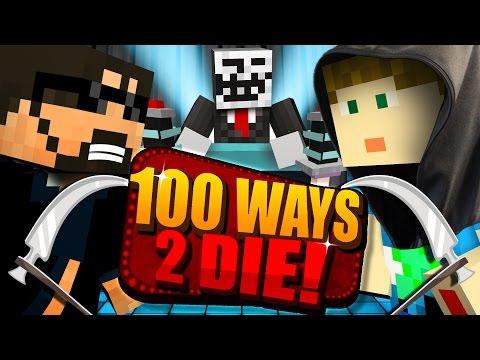 Minecraft: 100 WAYS TO DIE CHALLENGE - CRAINER DECIDES MY FATE!! (видео)