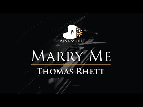 Video Thomas Rhett - Marry Me - Piano Karaoke / Sing Along / Cover with Lyrics download in MP3, 3GP, MP4, WEBM, AVI, FLV January 2017