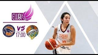 Tsmoki-Minsk – Piestanske Cajky – EWBL play-off 2018/19