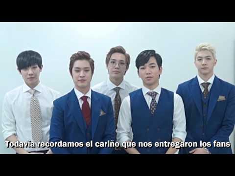 MBLAQ Message to Chile (видео)
