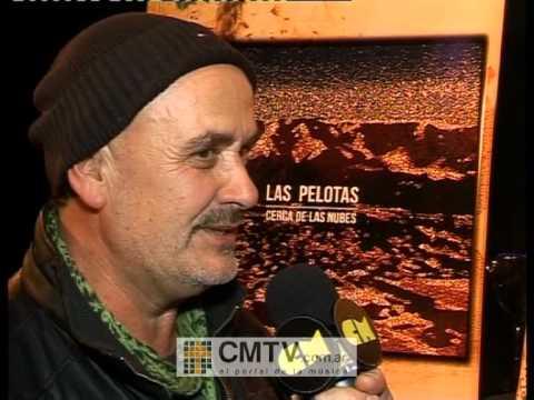Las Pelotas video Entrevista Julio 2012 - Cerca de las nubes