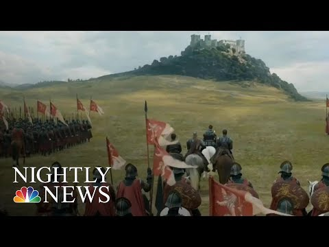 HBO Hackers Claim To Have 'Game Of Thrones' Documents | NBC Nightly News