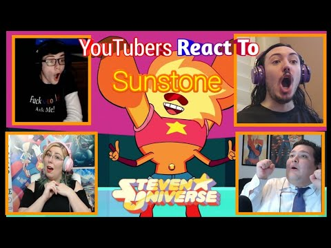 Youtubers React To Sunstone (Steven Universe)