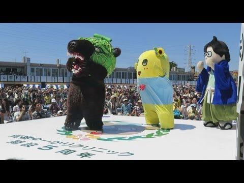 ふなっしーの脅威の跳躍力は○○cm!!