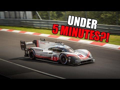 PORSCHE 919 EVO: THE NÜRBURGRING IN UNDER 5 MINUTES?