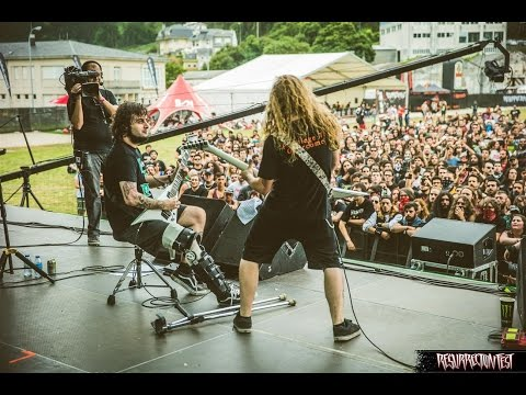 Angelus Apatrida - Give 'Em War (Live at Resurrection Fest 2014, Spain)