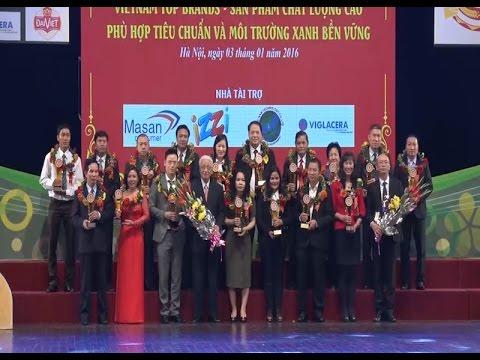 Bộ Công Thương trao giải thưởng cho top 10 sản phẩm thực phẩm tốt nhất Việt Nam