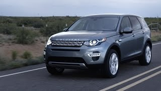 NEW 2015 Land Rover Discovery Sport reveal promo