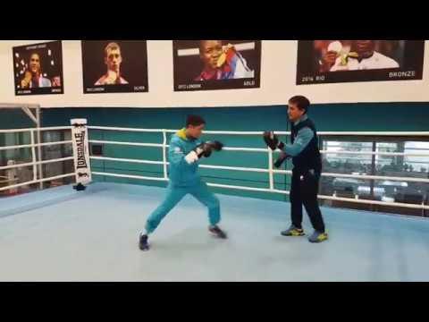 Тренировка Astana Arlans день 1- Шеффилд GB