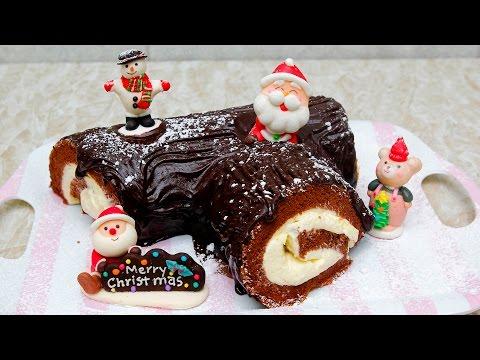Vào bếp học cách làm bánh khúc cây chuẩn bị cho mùa giáng sinh