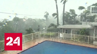"""Спасайся, кто может: в Австралию пришел тропический циклон """"Дебби"""""""