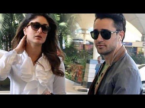 Kareena Kapoor & Imran Khan On The Sets Of Nach Ba