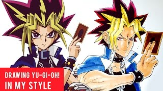 """Play Yu-Gi-Oh! Duel Links Now! Click here: http://bit.ly/2qFcvpTPartnered with Konami.Check out the official Duel Links YouTube page here: https://www.youtube.com/user/OfficialYuGiOhTCGINSTAGRAM:  http://www.instagram.com/WhytMangaFACEBOOK:    http://www.facebook.com/WhytMangaTWITTER:        http://www.twitter.com/WhytMangaDEVIANTART: http://www.odunze.deviantart.comMY MANGA TOOLS:Deleter G-pen, Deleter Type A B4 Comic book Paper, Deleter type 6 ink, Manga Studio 5, Clip Studio Paint, Photoshop, SAI, Mechanical Pencils, Erasers, Curves, Rulers, Brushes, Water Color, Copic Markers Ciao 72 B, Copic Marker Sketch 72 A, Skin Tone Copic Markers, White pigment Signo pen, Pentel Brush Pen, Copic Refills, Mustek A3 Pro 1200 USB Scanner, Pen Tablets, Screentones and Pizza.This Channel is about my journey to become a professional comic/manga artist. I will document all the goods and the bads showing my process in making my main dream manga  comic """"Apple Black"""" serialized on Saturday-AM. NEW VIDEOS every Saturday! [mornings].TAGS: Hearthstone, deck, duel, card game, mobile gaming, game review, pokemon go, Pokemon go gameplay, clash royale, clash royal, mobile games, best mobile game, get free gems, clash of clans, game play, game challenge, Duel Links, Yu-Gi-Oh, Shonen, Jump, Saturday-AM, magazine, Naruto, Boruto, Dragon Ball, Z, One punch man, attack on titan, my hero academia, boku, no hero, clover, views, subscribers"""