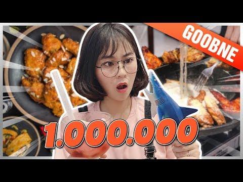 1 triệu MISTHY ăn NGẬP MẶT Ở TIỆM GÀ HÀN QUỐC || WHAT THE FOOD - Thời lượng: 12:40.