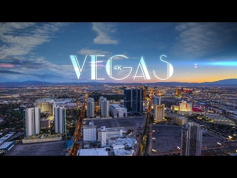 Vegas 4K a TimeLapse Video of Sin City at Night