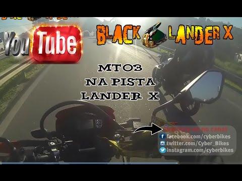 Yamaha Mt03 na Volta - Lander Xtz 250 X  -