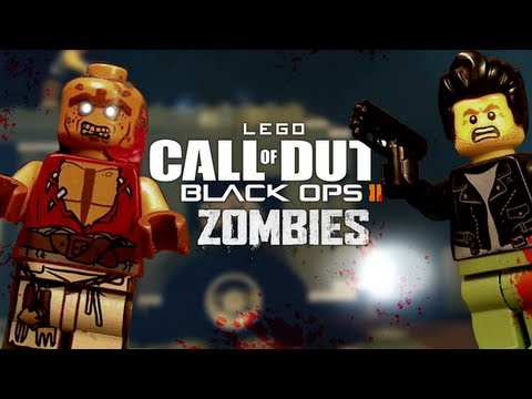 Lego Black Ops 2 Zombies
