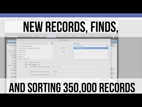 004 New Records, Finds, and Sorting 350,000 Records