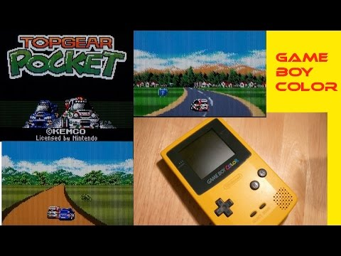 Top Gear Pocket Game Boy