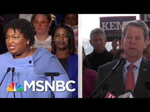 Dem Stacey Abrams: She Cannot Win Georgia Governor's Race, But Does Not Concede   MTP Daily   MSNBC