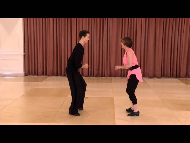 International Jive technique and practical application posture