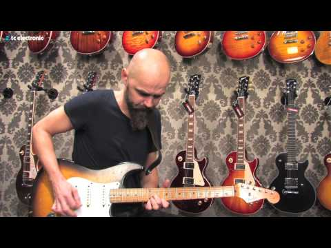 "Mika Vandborg (Electric Guitars) demoes his ""Shaker Trem"" TonePrint (DK Version)"