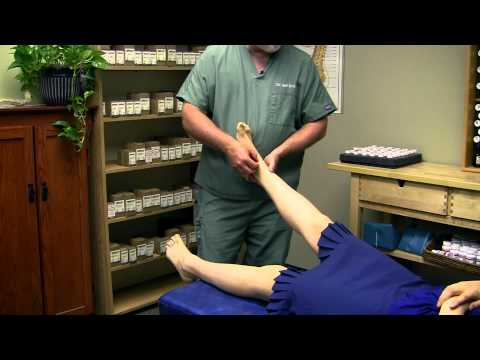 Ankle & Foot Chiropractic Adjustment Demonstration Austin Chiropractor Care