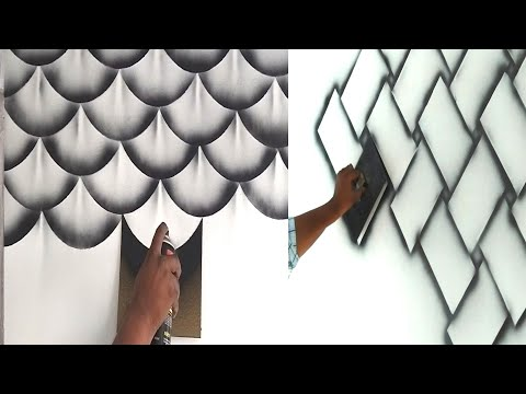 8 wall painting 3D design ideas
