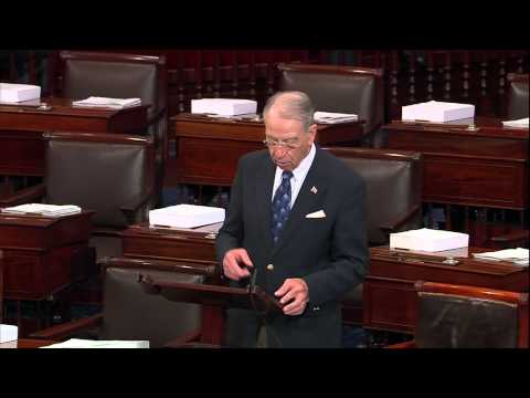 nominations - Senator Chuck Grassley talks about judicial nomination shenanigans on the Senate floor.