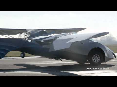 造型科幻、在草地上起降,還有比這更酷的飛行跑車嗎?!